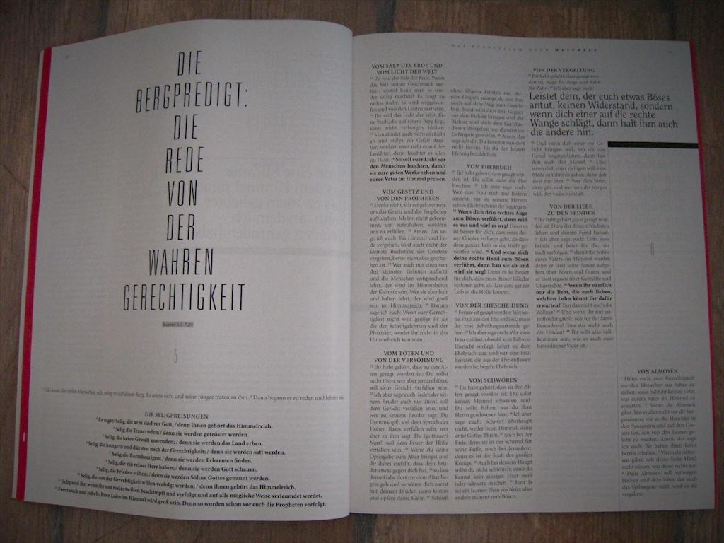 Schöne Typografie