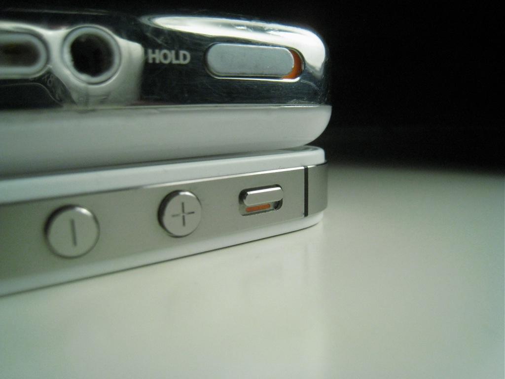 Hold- vs. Lautlos-Schalter