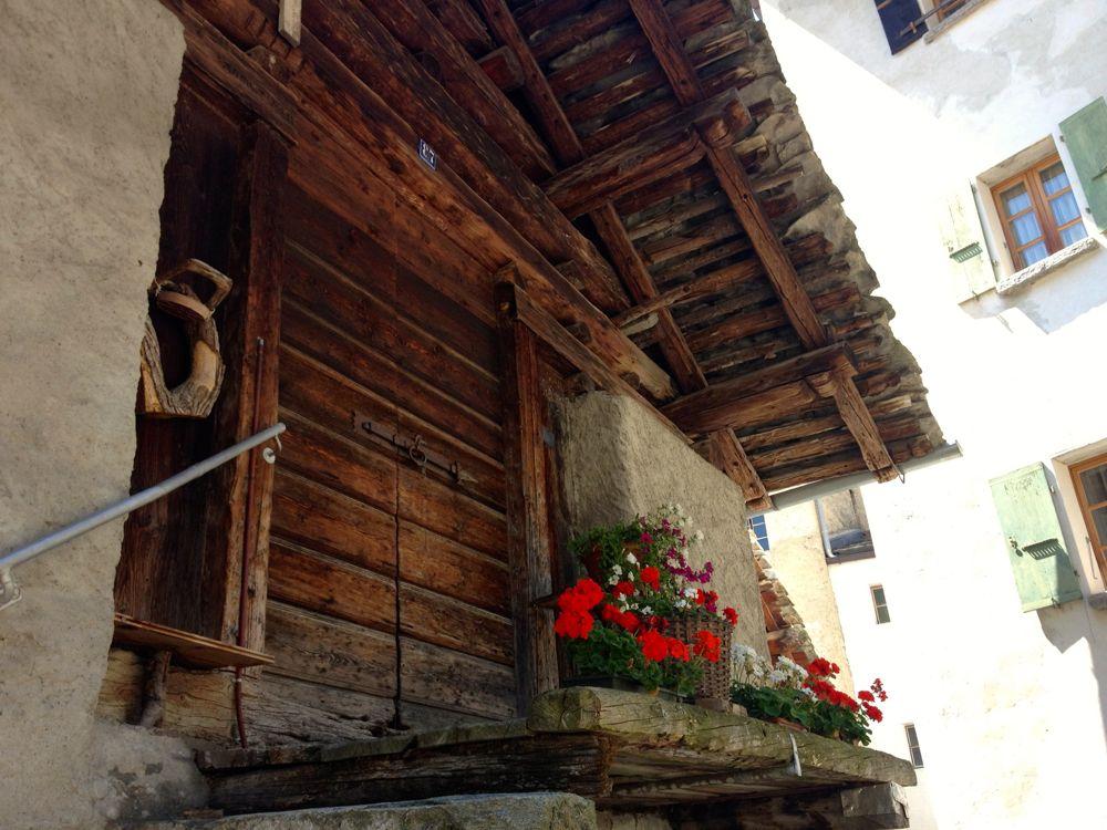 Gebäude in Soglio
