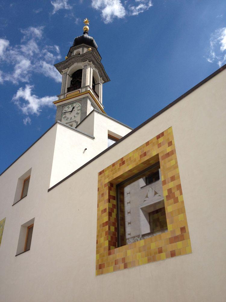 Kirche und Spa