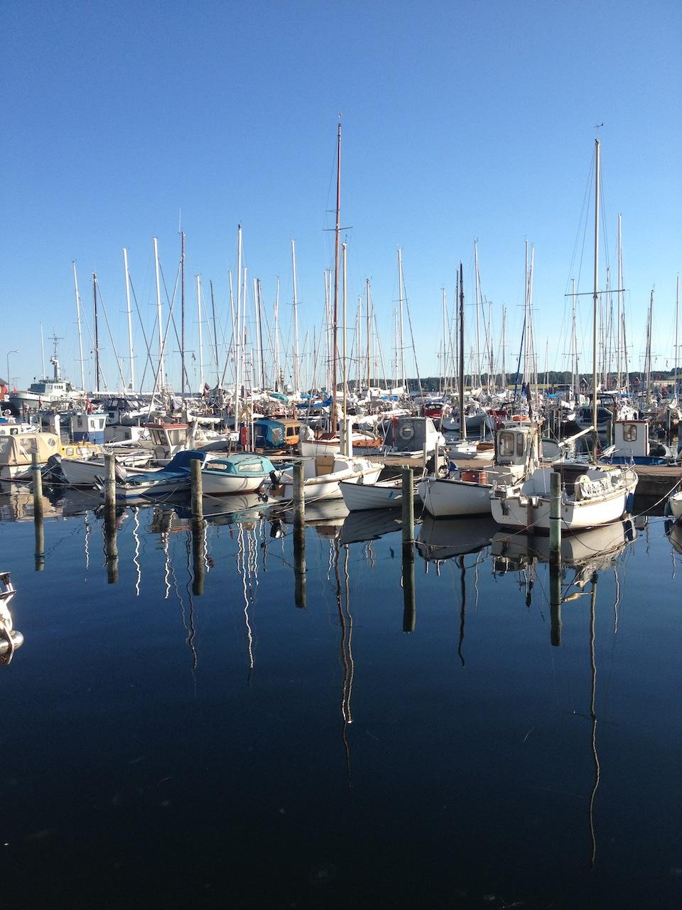 Hafen Spiegelung