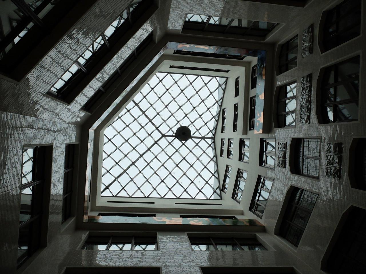 Blick nach oben 1