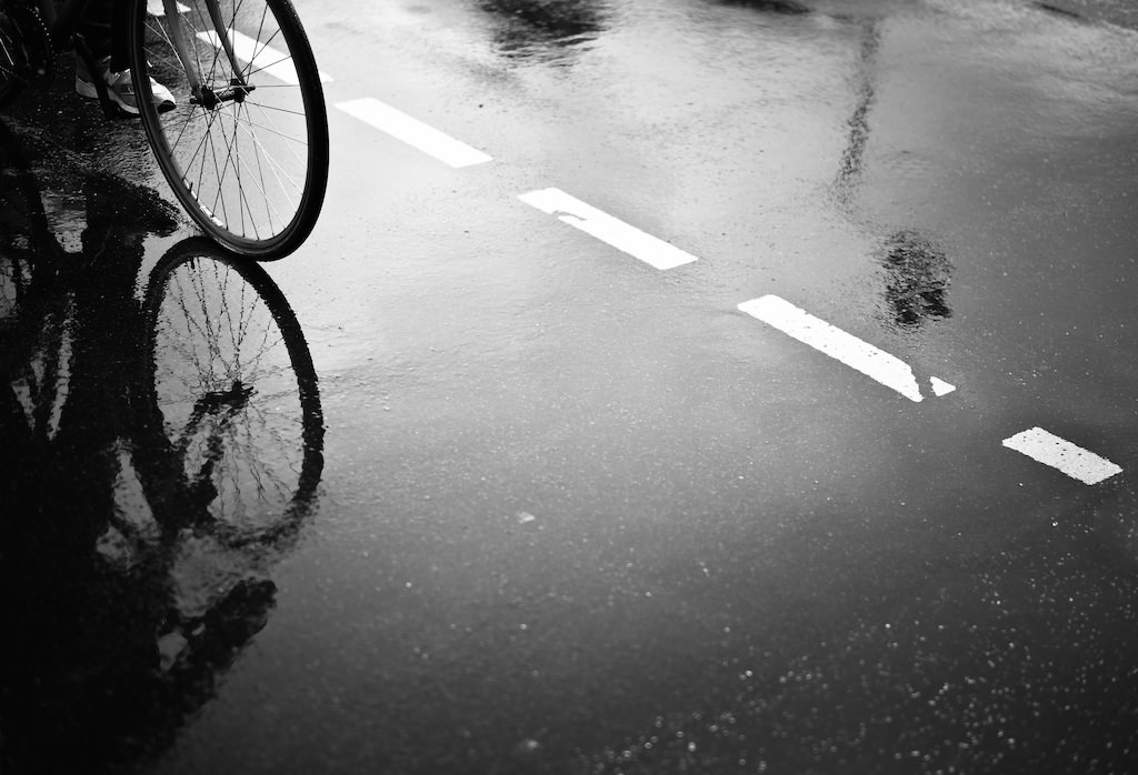 bike reflection von T. Gaulke